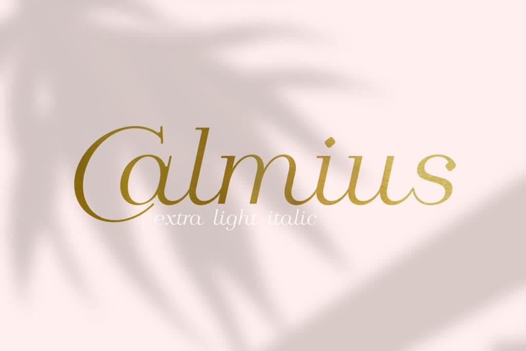 Calmius EL Italic