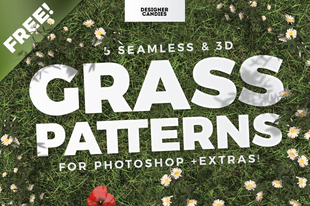 Free Seamless Grass Patterns