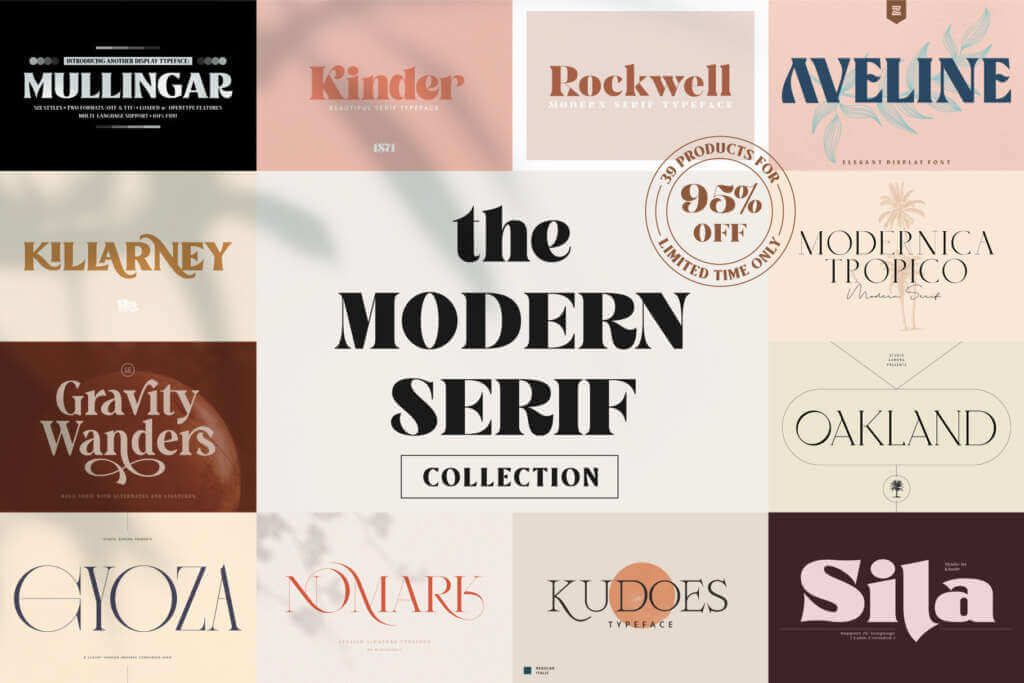 The Modern Serif Collection