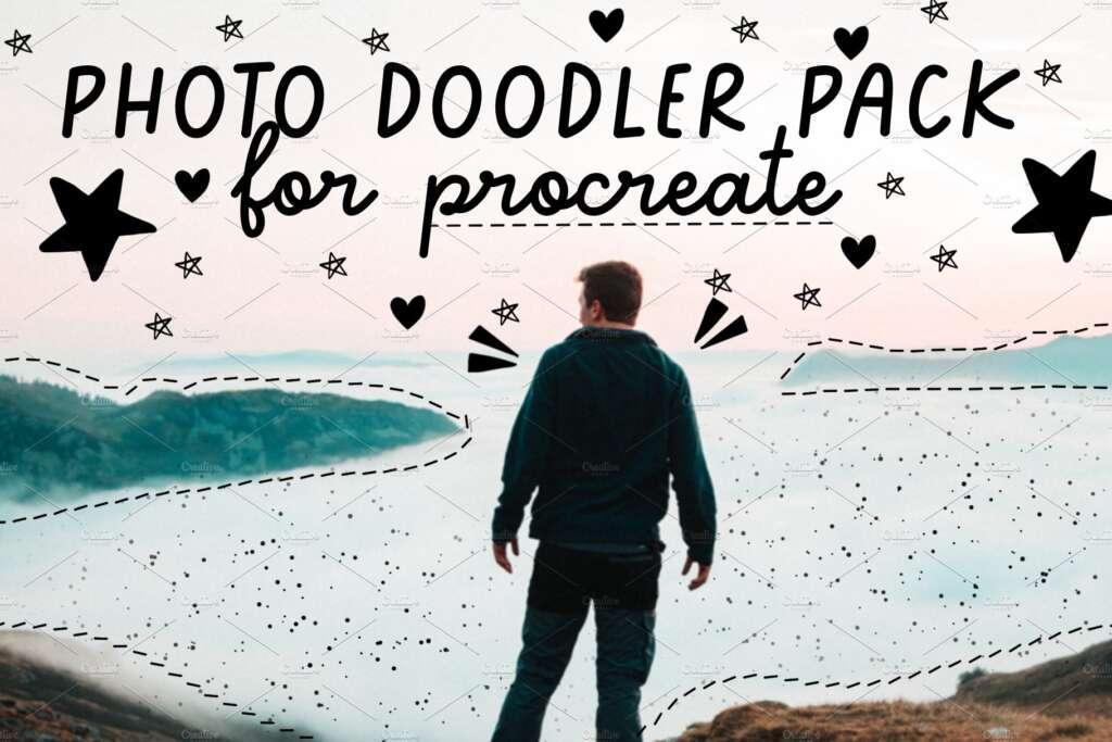 photo doodler pack for procreate