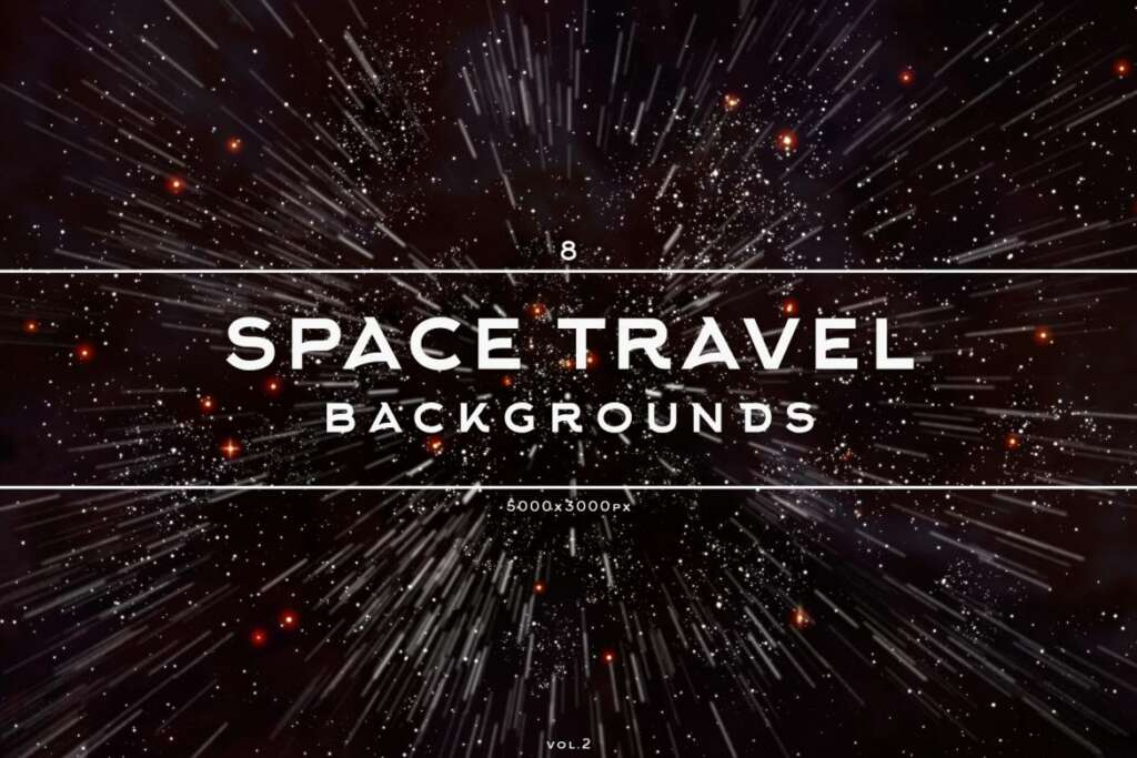 Free Space Travel Backgrounds Vol.2