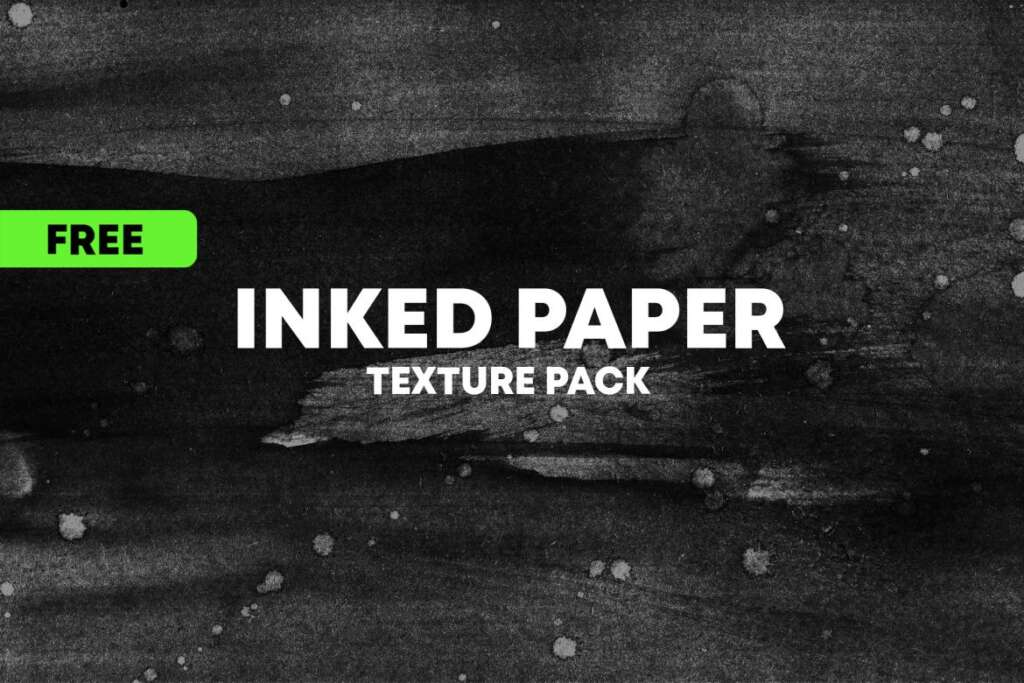 FREE INKED PAPER TEXTURE PACK VOL.1