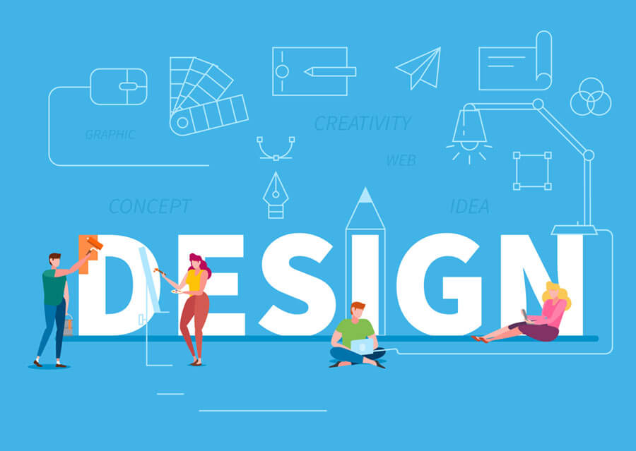 デザイン素材をうまく利用する