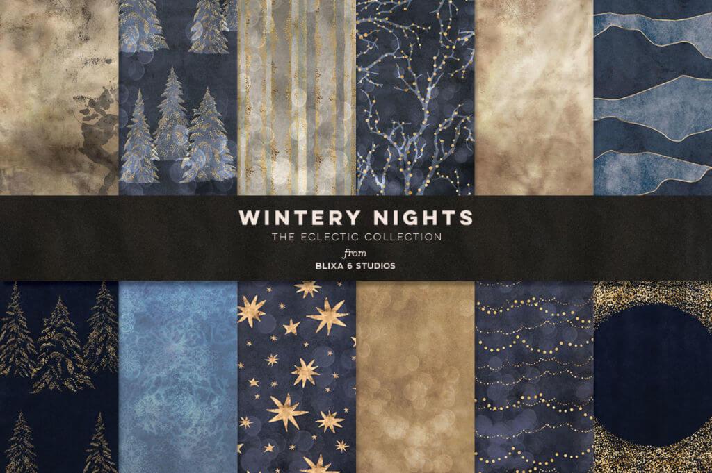 36 Winter Fairy Lights Gold