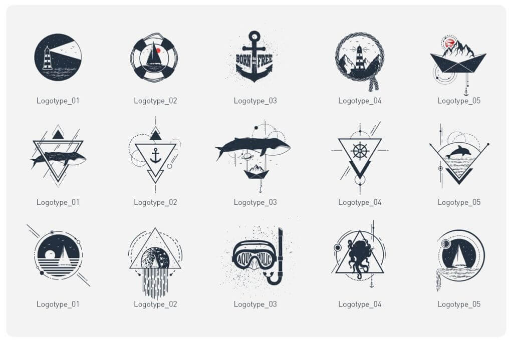 Welcome Aboard. 15 Logos & Badges