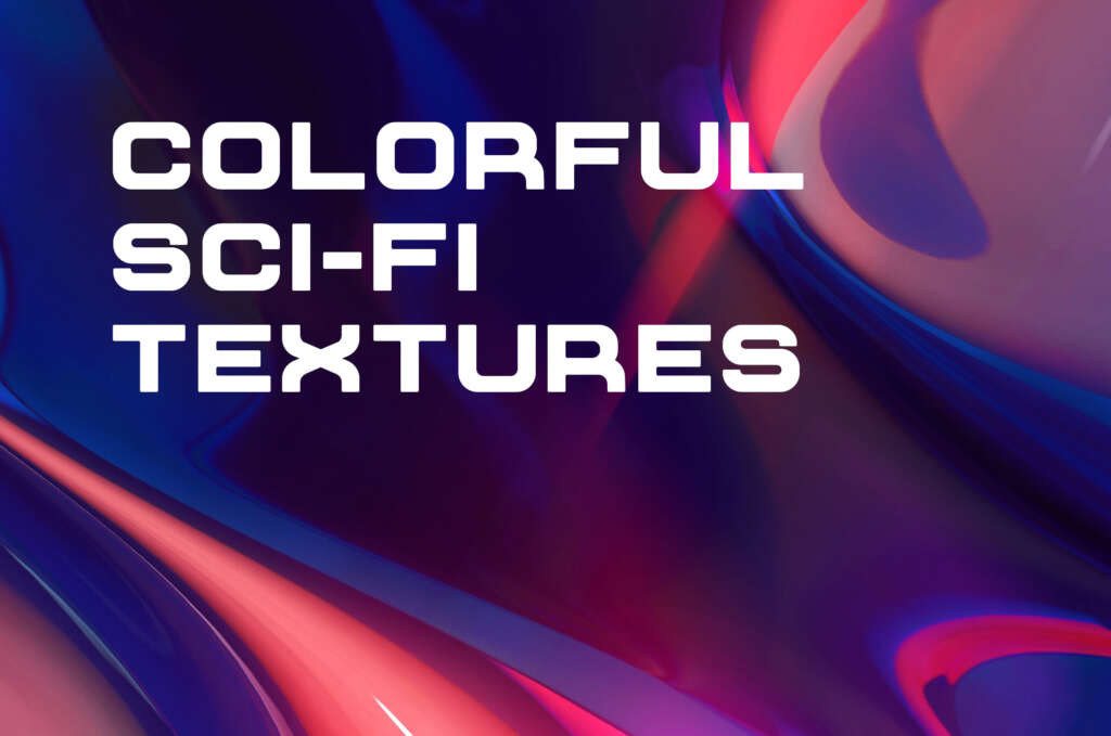 5 SCI-FI ABSTRACT TEXTURES