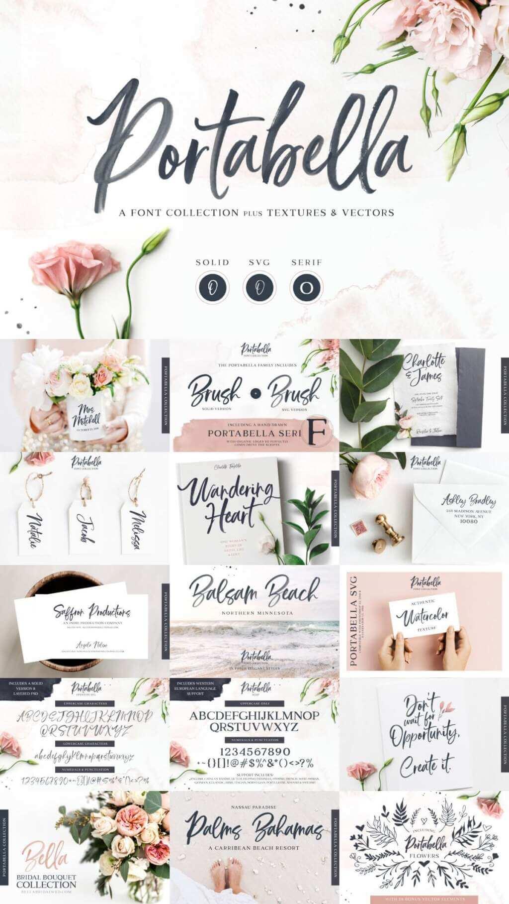 Portabella Font Collection