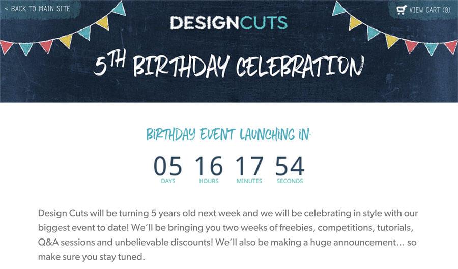 デザインカッツ5周年イベント