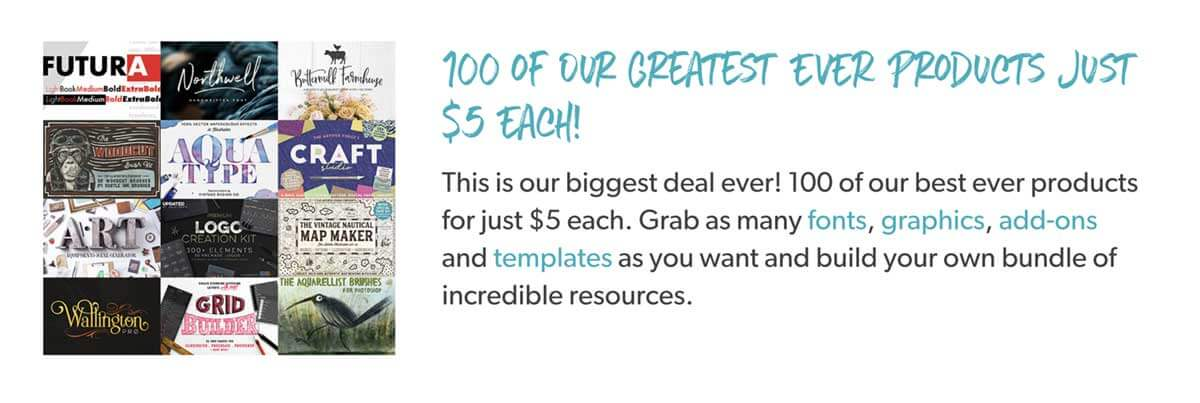 100 of Our Greatest EVER Products Just $5 Each!