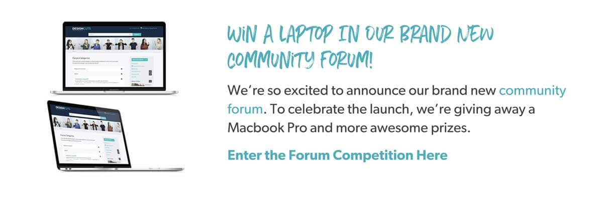 Win A laptop In Our Brand New Community Forum!
