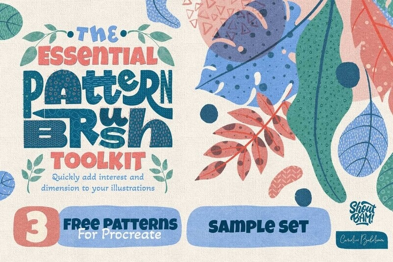 The Essential Pattern Brush Toolkit