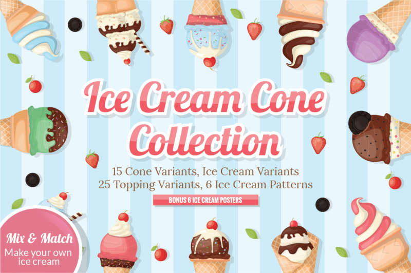 Ice Cream Cone Collection