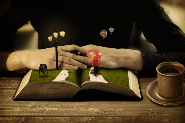 本の中の世界