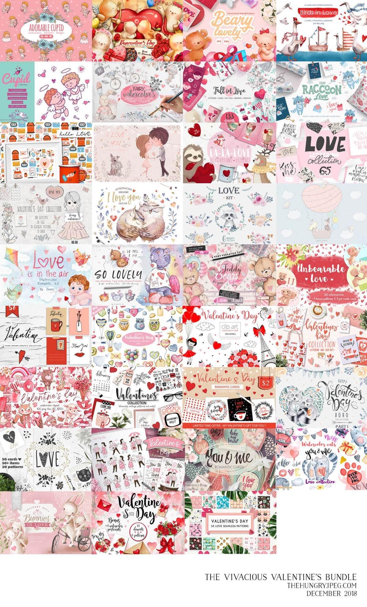 The Vivacious Valentines Bundle