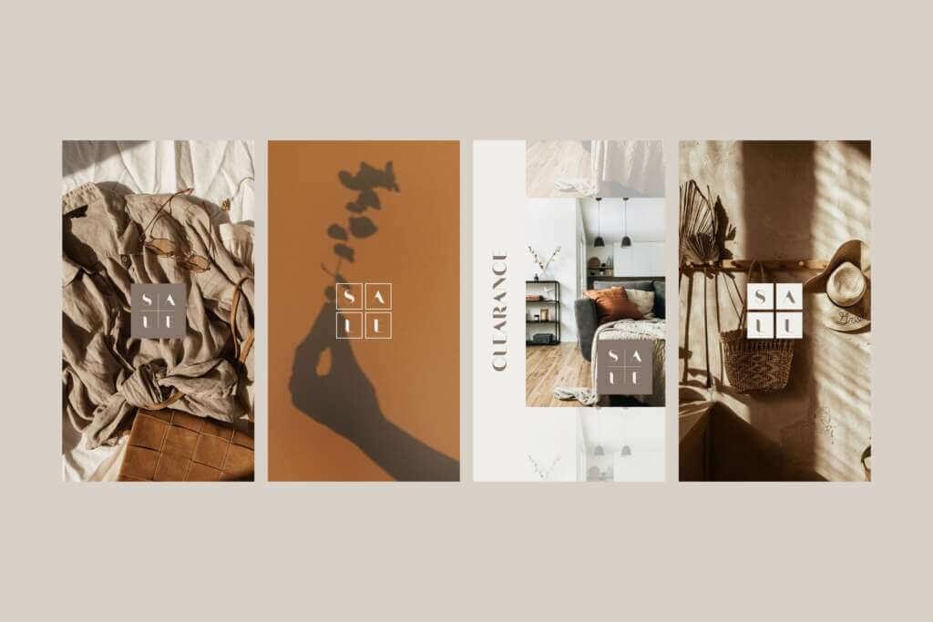 インスタ投稿&ストーリーズ対応セールスプロモーションテンプレート for Canva