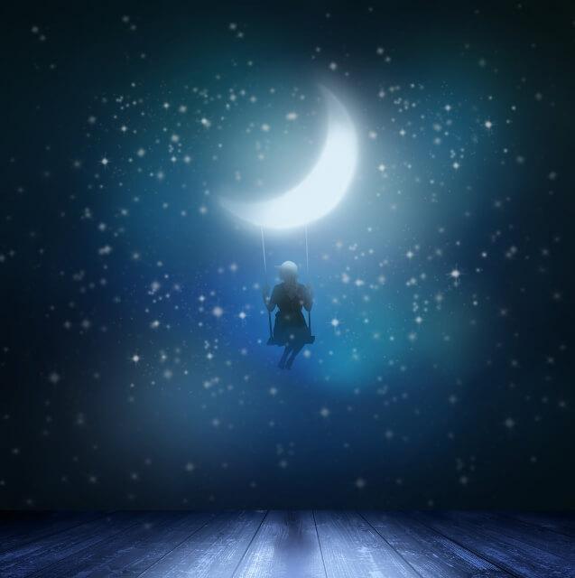月のブランコ