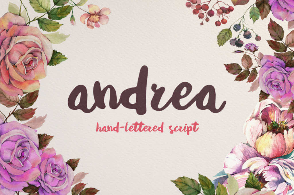 ANDREA SCRIPT FONT