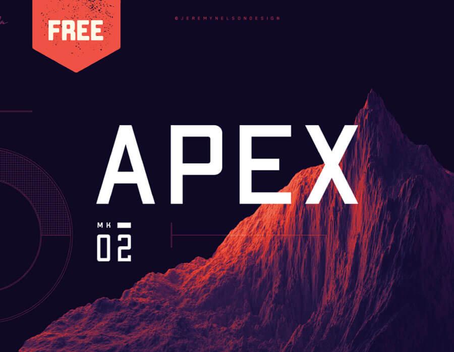 APEX MK2 - FREE SANS SERIF FONT