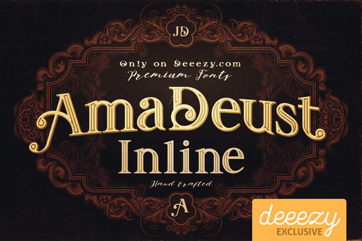 Amadeust-Inline-free-font-deeezy-1