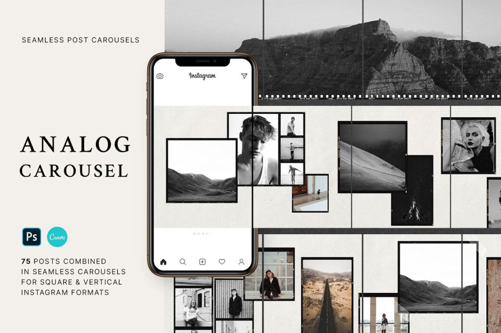 Analog – Carousel Post Templates
