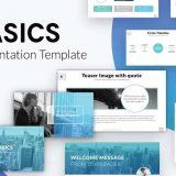 BASICS - FREE MINIMAL PPT & KEYNOTE TEMPLATE