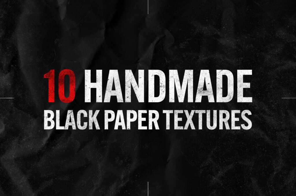 BLACK PAPER PHOTOSHOP TEXTURES