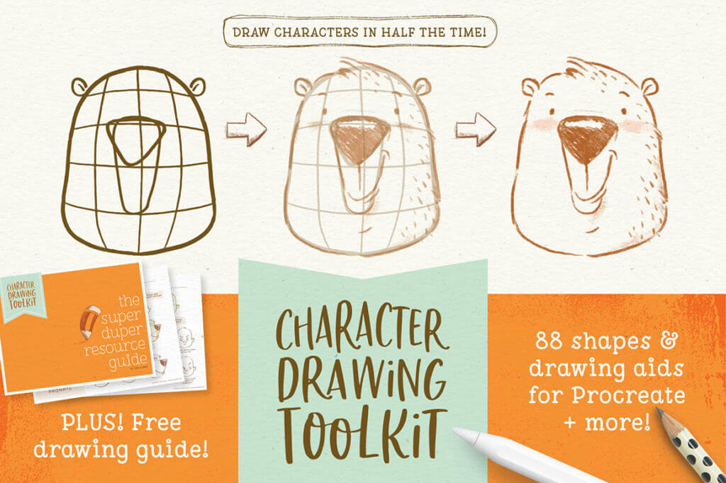 Character Drawing Toolkit