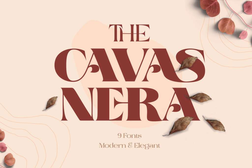 Cavas Nera - Free Elegant Serif Font