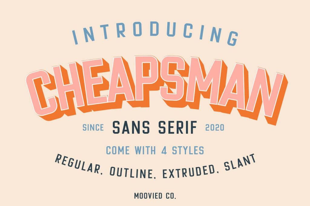 Cheapsman Sans   40% Off