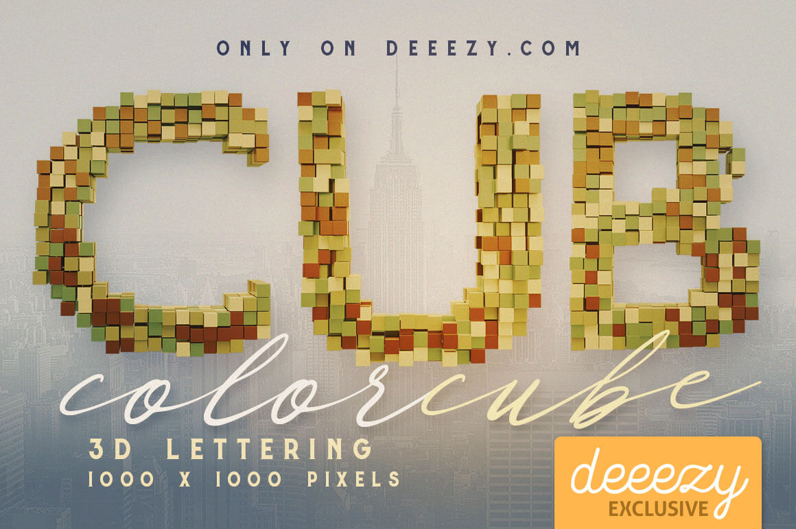 ColorCube3DletteringDeeezy1