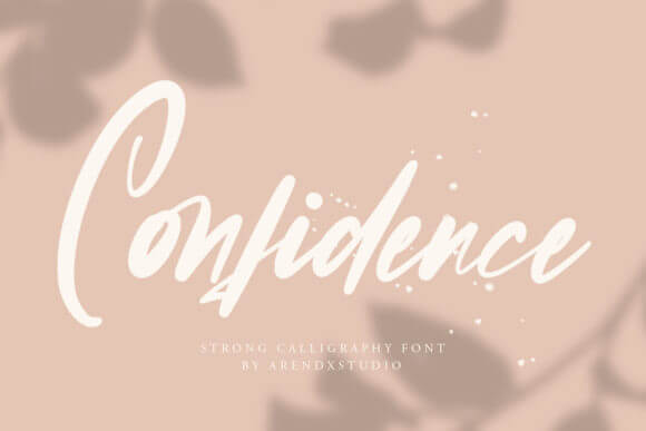 Confidence Font