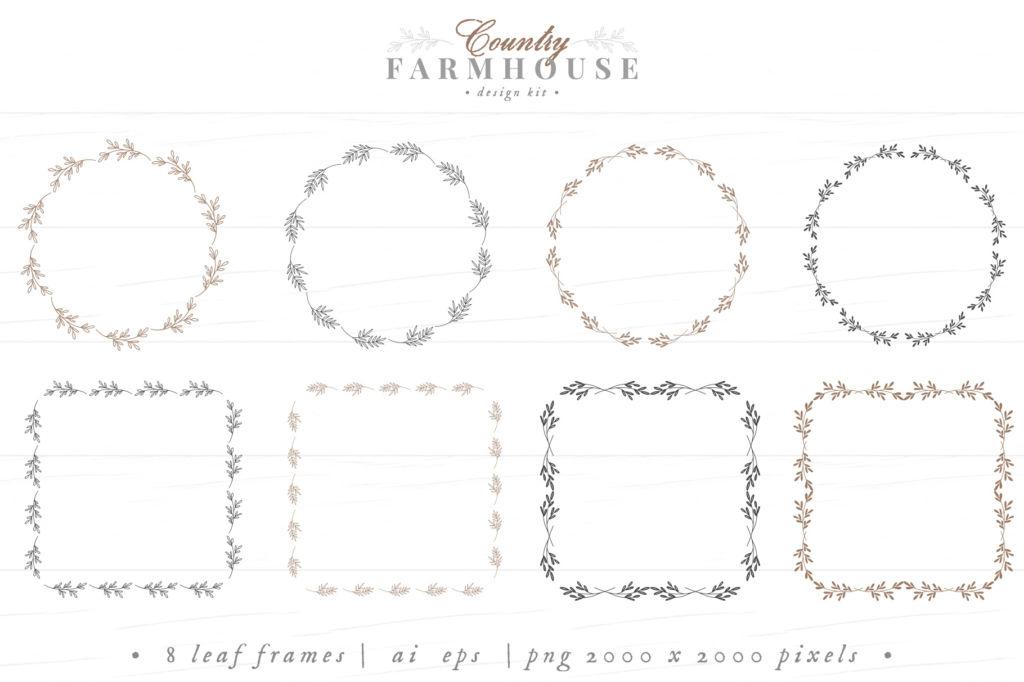 COUNTRY FARMHOUSE DESIGN KIT