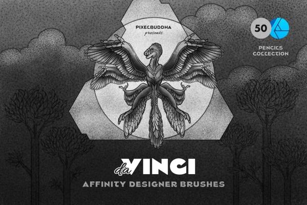Da Vinci Pencil Affinity Designer Brushes
