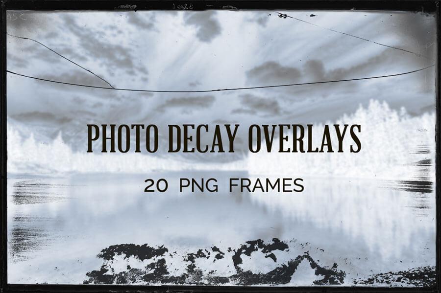 PHOTO DECAY OVERLAYS
