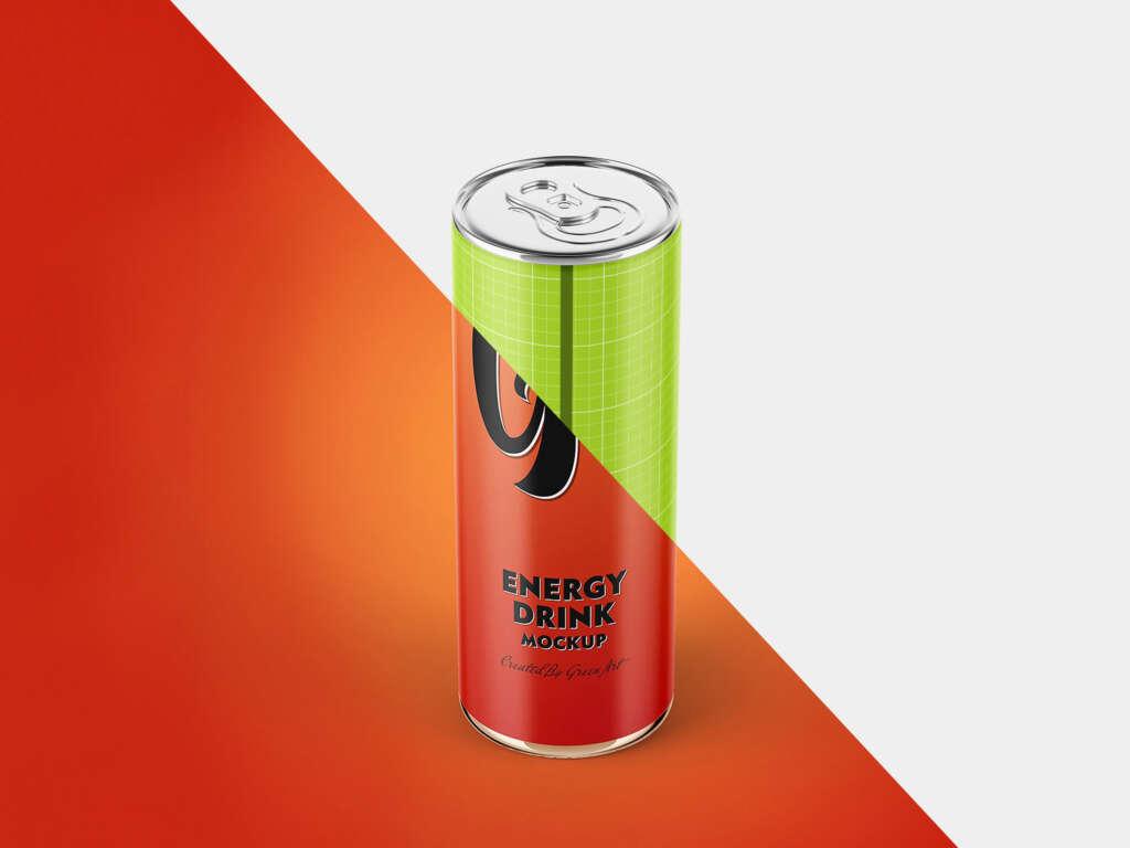 ENERGY DRINK MOCKUP SET