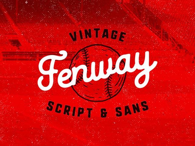 FENWAY SCRIPT TYPEFACE