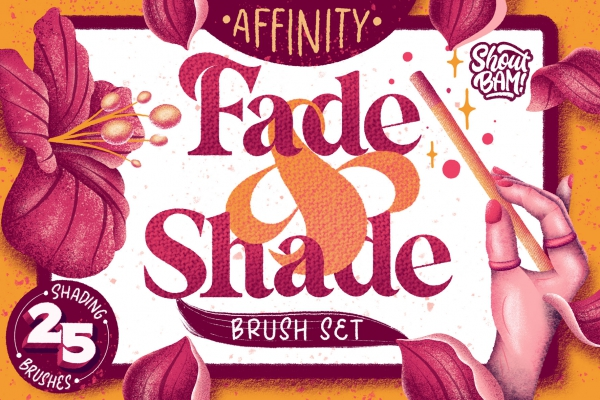 Fade & Shade Brushes & Tutorials for Affinity