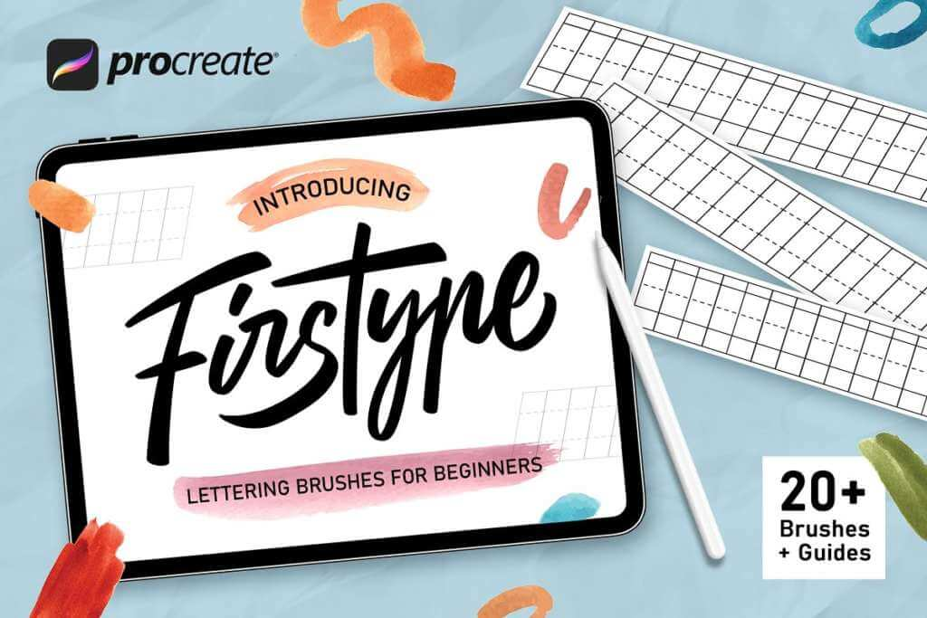 Firstype Procreate Lettering Brushes
