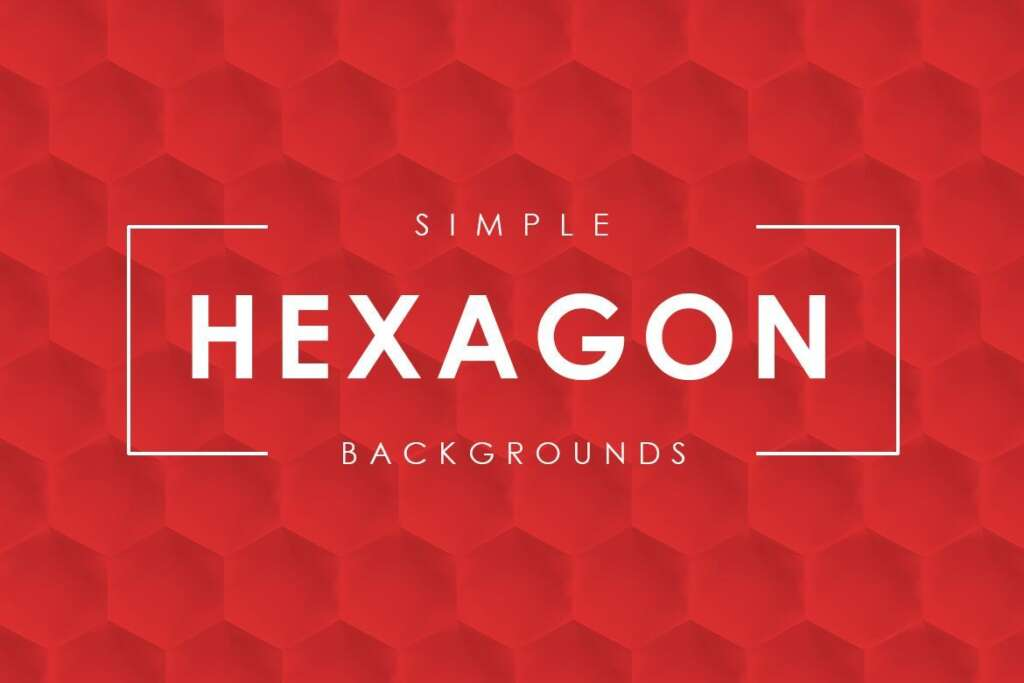 Free Simple Hexagon Backgrounds
