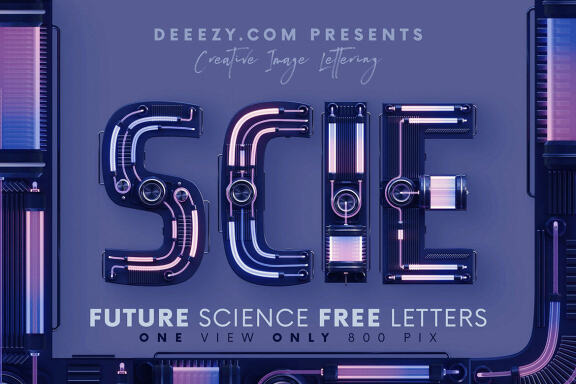 Future Science - Free 3D Lettering