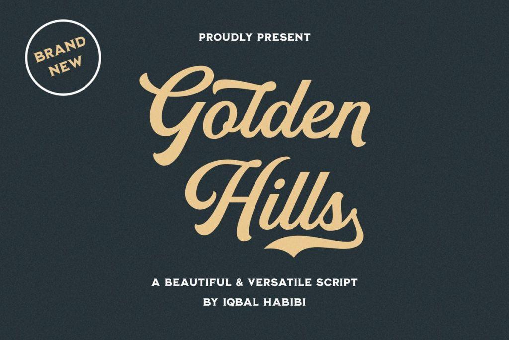 Golden Hills - Script