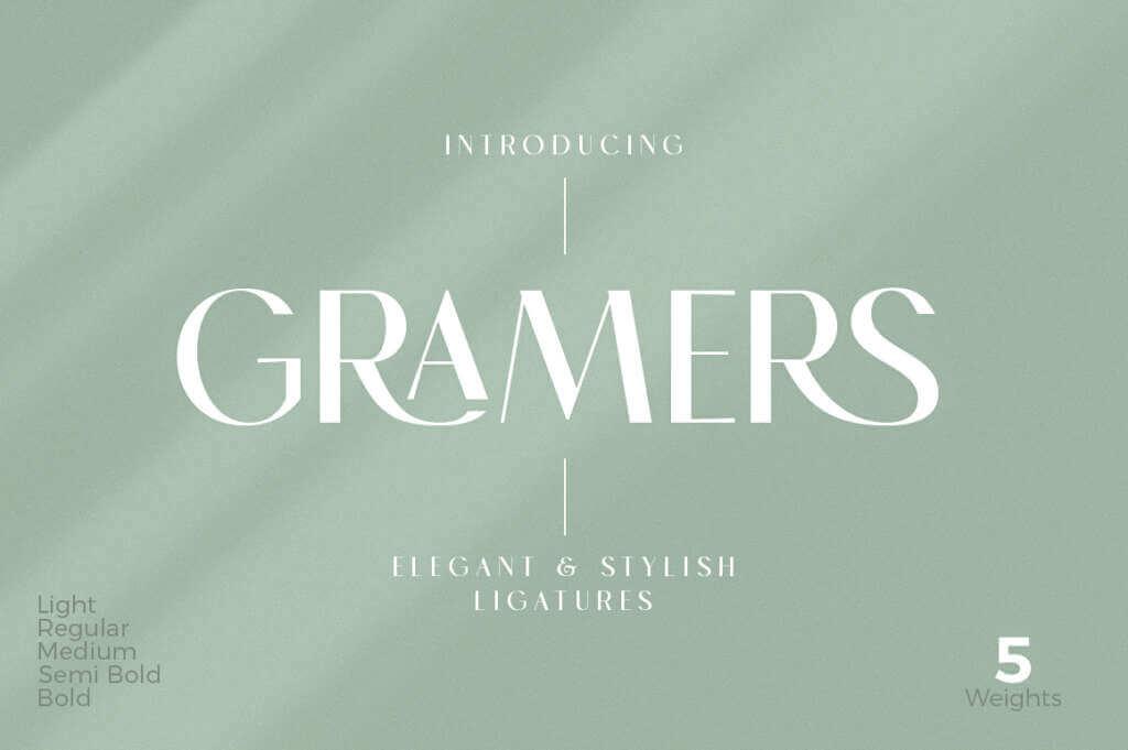 Gramers Font Family