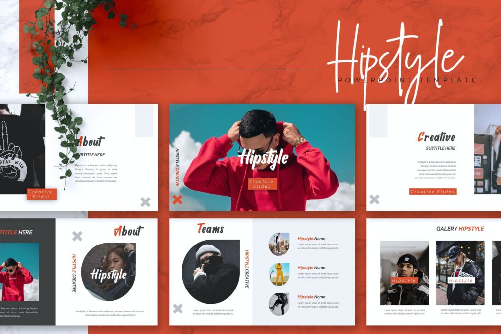 HIPESTYLE - Creative Powerpoint Template