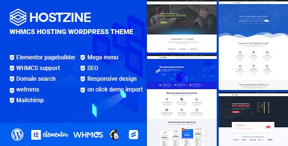 Hostzine - Hosting WordPress Theme