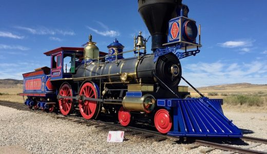 【列車好きにオススメ】ゴールデン・スパイク国立史跡レビュー【アメリカ旅行】