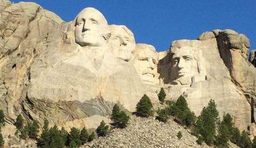 大統領4人の巨大彫刻!マウントラシュモア国立記念公園レビュー【アメリカ旅行】
