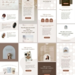 インスタグラム投稿&ストーリーテンプレートCanva200点セット【アニメーション対応】