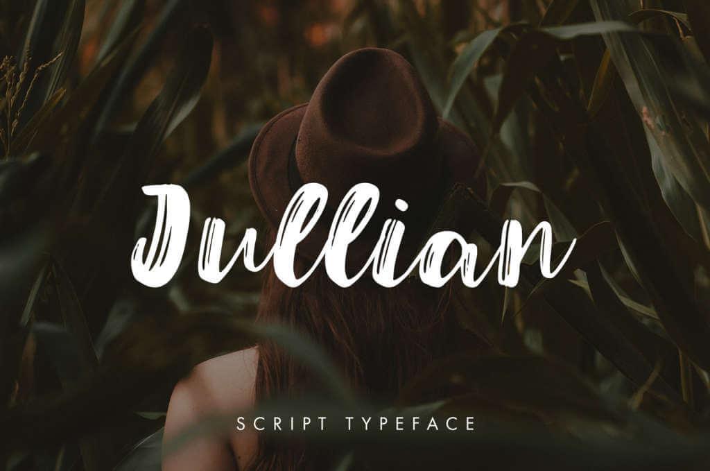 JULLIAN SCRIPT TYPEFACE