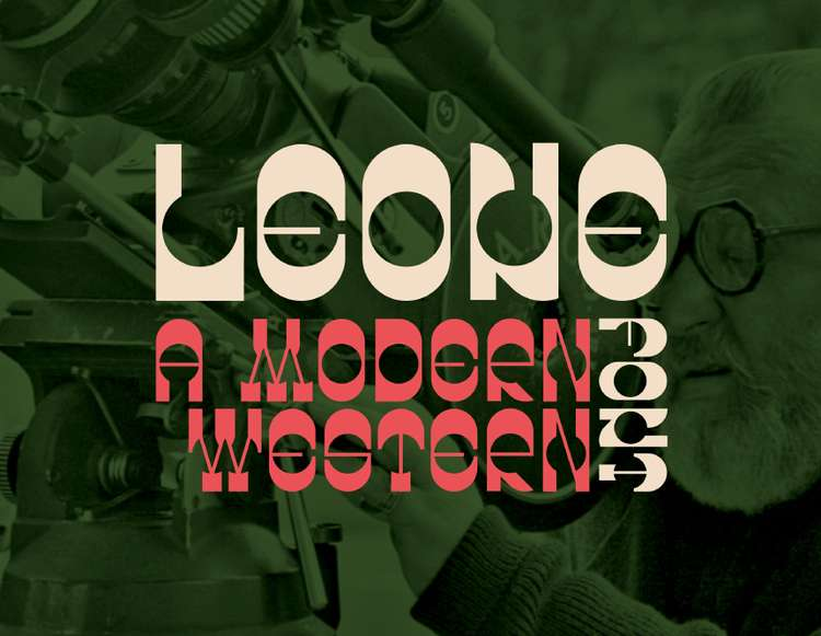 LEONE - FREE MODERN WESTERN FONT