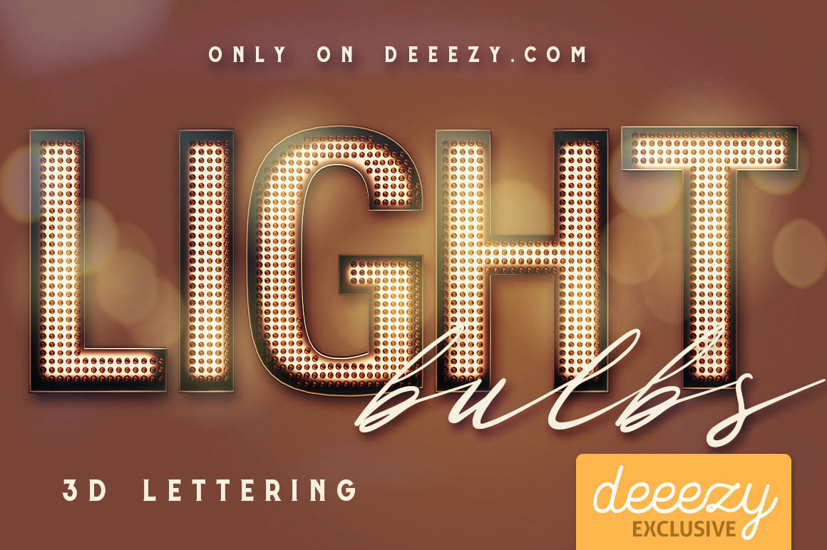 LightBulbs3DletteringDeeezy1